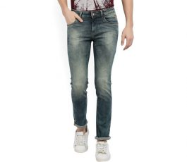 Flying Machine Slim Men's Blue Jeans